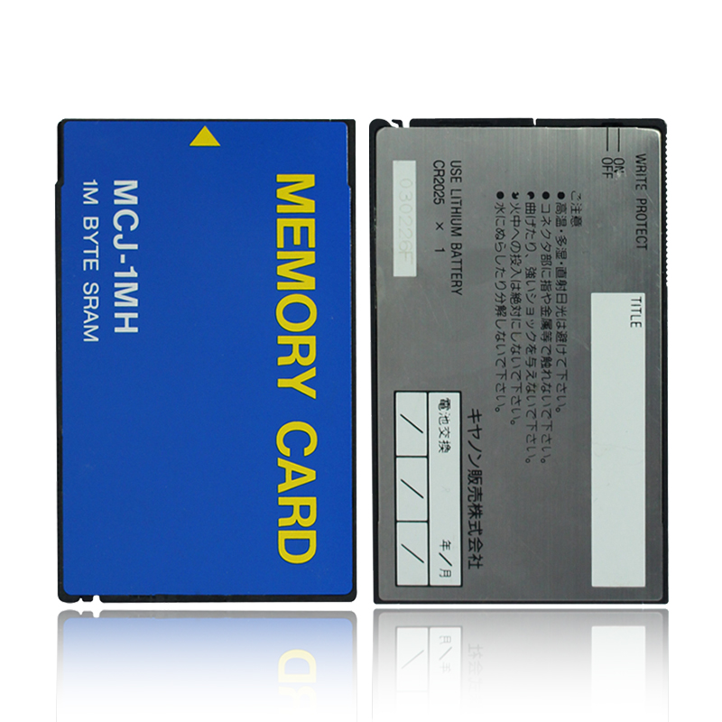 Industrial Equipment Storage PC Card PCMCIA SRAM Card 1M ATA Flash Memory Card MCJ-1MH