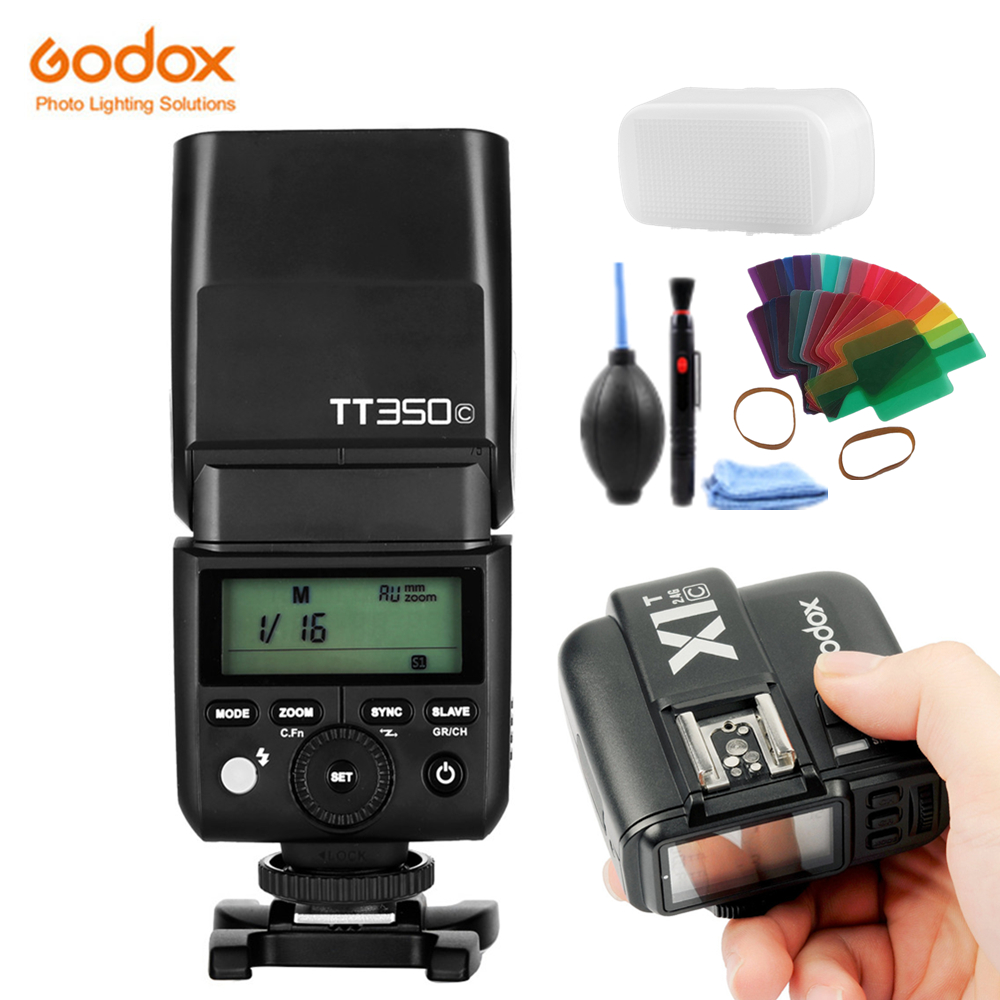 In stock Newest Godox Mini TT350S 2.4G TTL flash for Sony Mirrorless A7 7R A6000