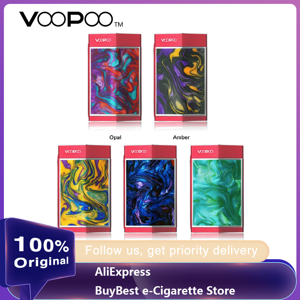 Original VOOPOO TOO 180W TC Box MOD Resin Version 18650 E-cigarette Mod Powered By Single Or Dual 18650 Battery Vape Mod