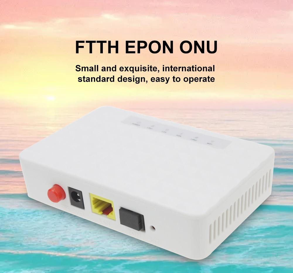 EPON Fiber Device To User Side ONU 1GE EPON 1port FTTH ONU ONT Single LAN Port OLT 1.25G Epon ZTE Chipset Fiber To Home FTTH
