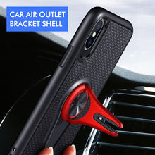 KISSCASE Magnetic Armor Phone Case For Samsung Note 10 9 8 G530 Case Car Holder Phone Cover for Samsung Grand Prime Plus Funda(China)
