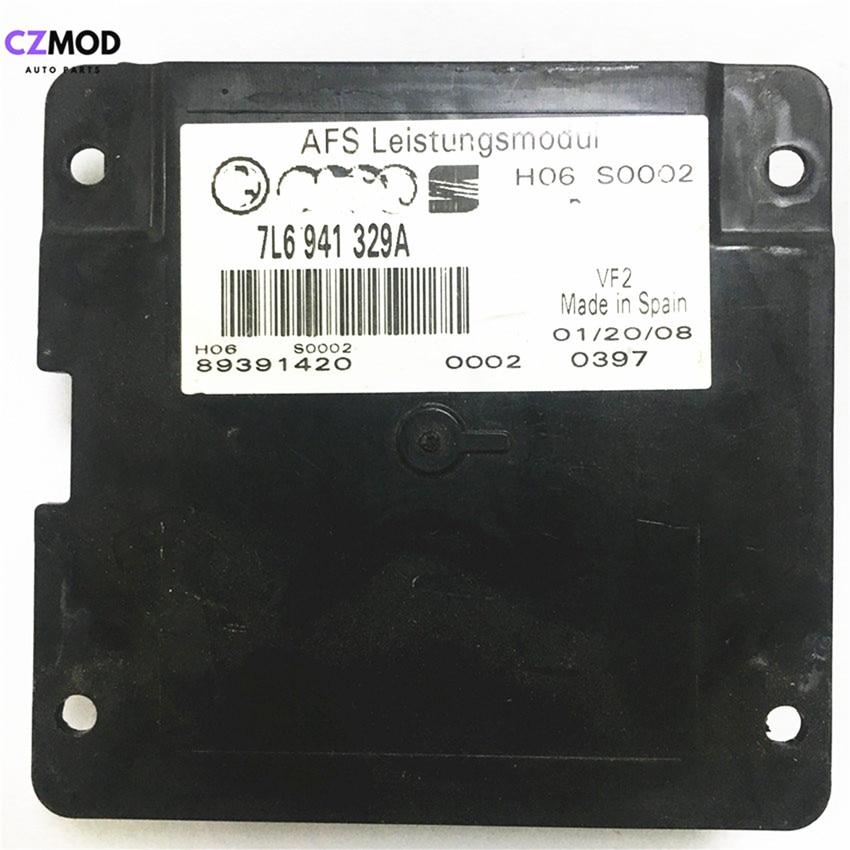 CZMOD Original 7L6 941 329A Headlight AFS Leistungsmodul Control Unit Follower Module 7L6941329A Car Light Accessories(used)