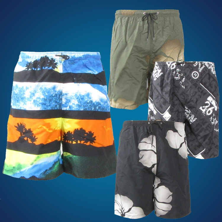 2015 New Products Sports Casual Shorts Men Flower Shorts Summer Beach Shorts Men's Fashion Casual Beach Shorts