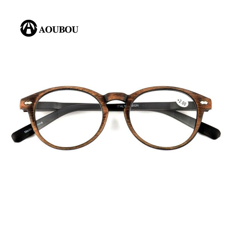 Lunettes de lecture gafas progressives, Imitation bois, jambe de printemps claire et claire, anti lumière bleue, 2020