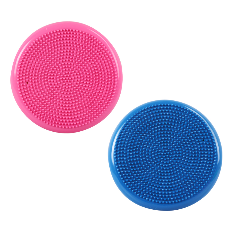 Yoga Massage Ball Durable Universal Sports Gym Fitness Yoga Wobble Stability Balance Disc Massage Cushion Mat
