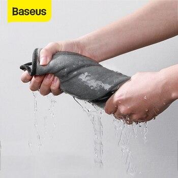 Baseus Car Wash Microfiber Towel Car Polishing Care Cleaning Towels Drying Washing Towel Thick Plush Fiber Car Cleaning Cloth