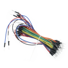 65 шт. = 1 комплект скачок провода кабель мужчин и мужчин Перемычка провода для макета 65 скачок провода