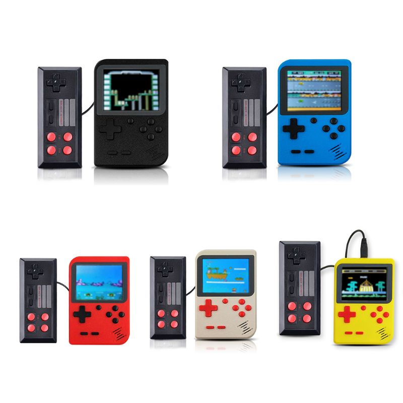 GC26 500In1 Retro Classic Games Host 3Inch Screen Mini Handheld Game Console Machine Controller for Kids Gifts