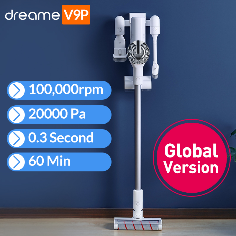 Dreame V9P Handheld Wireless Vacuum Cleaner Portable Cordless Cyclone Filter Carpet Dust Collector Carpet Sweep Home