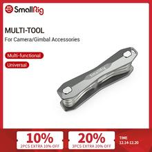 SmallRig Multi Tool for Camera and Gimbal Accessories Folding Screwdriver Set With Allen Wrenches/Phillips Head Screwdrives 2432