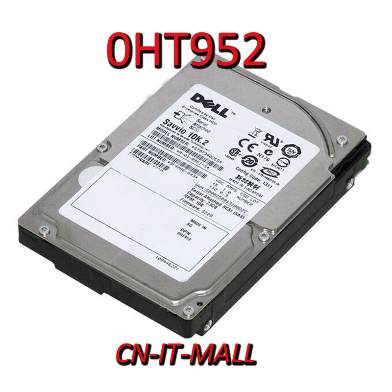 Жесткий диск pull 0TX535 0HT952 ST973402SS 74 ГБ 10000 об/мин 16 Мб кэш SAS 2,5 дюйма