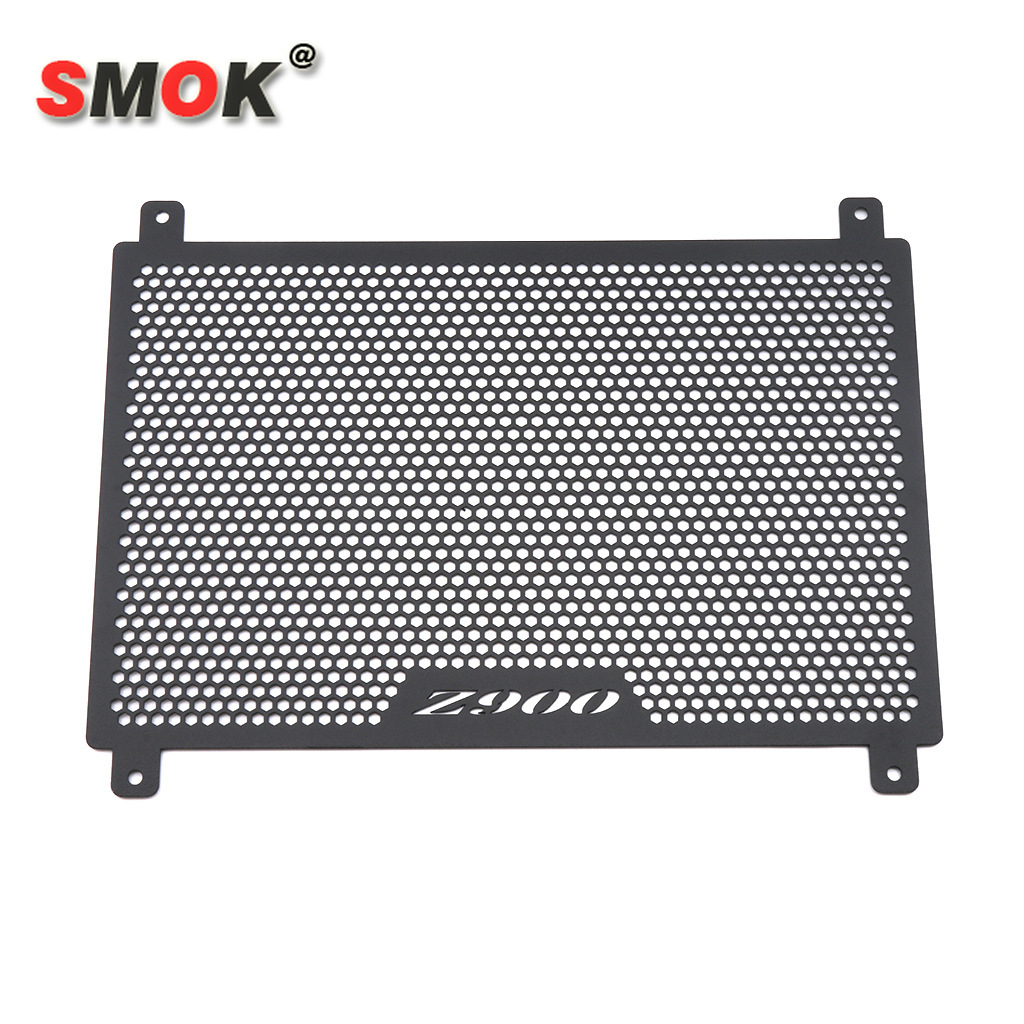 SMOK For <font><b>KAWASAKI</b></font> Z900 <font><b>Z</b></font> <font><b>900</b></font> <font><b>2017</b></font> 2018 2019 Motorcycle Accessories Radiator Grille Cover Guard Stainless Steel Protecter image