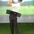 Swing Practice stick Golf swing Merlot's new D-BOX golf indoor swing and waist training aids turn to the waist to force
