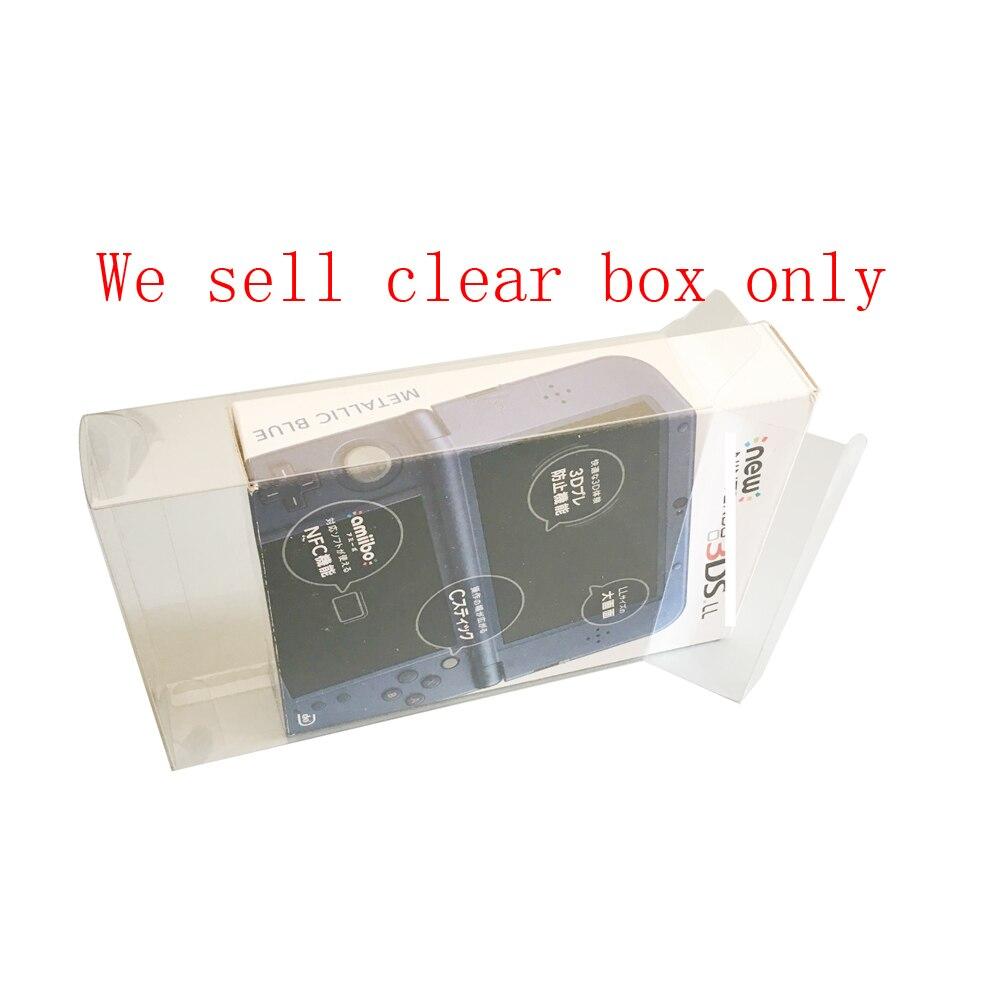 Ясное прозрачное покрытие для NEW3DSXL LL США/JP Версия игровой консоли ящик для хранения Чехол пластиковая защитная крышка