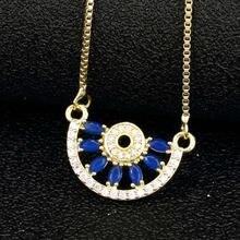Высокое качество Кристалл циркония ожерелье s Подвески Стразы