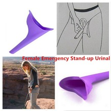 Urine-Device Urinal Toilet Stand-Up Women Camping Funnel Pee Travel Soft-Silicone Female