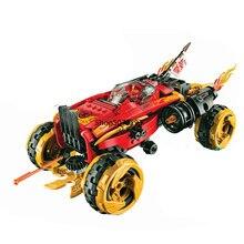 Serie Katana 4X4 vehículo juegos de bloques de construcción de modelo con las cifras Compatible 70675 juguetes ladrillos