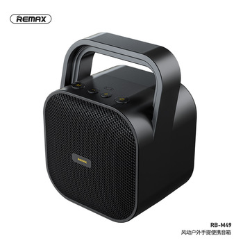 Remax Portable bluetooth 5.0 speaker aux in TF card usb flash drive Outdoor Wireless TWS interconnection Bluetooth speake RB-M49