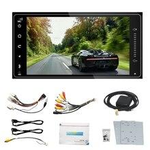 2 Din 7 дюймов Android 8,1 автомобильный стерео радио мультимедийный плеер 1G+ 16G gps навигационный плеер для Toyota