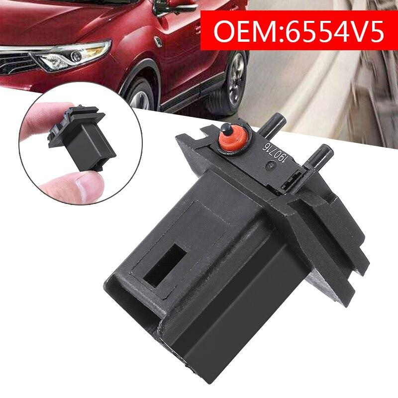 Для переключателя багажника задней двери, черный микропереключатель для задней двери, для Citroen C3 C4 C3, для Peugeot 206 307 308 407 6554V5, запчасти