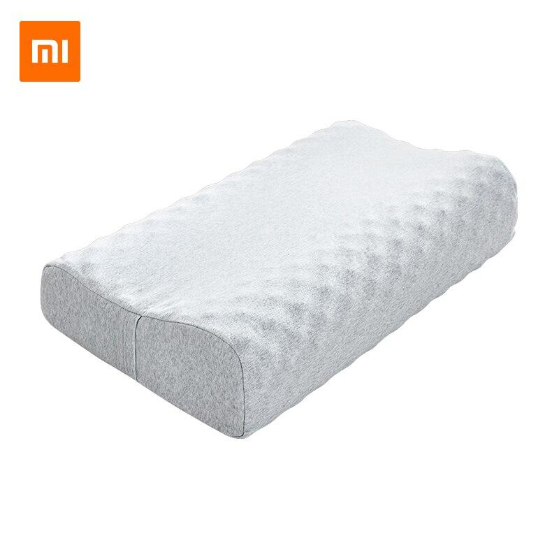 Original Xiaomi mi jia almohada protectora de látex Natural para el cuello S 65D almohada de látex para el cuidado de los niños y adultos almohada de cuello para uso en el hogar