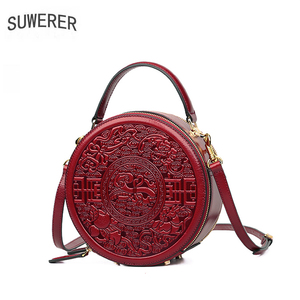SUWERER Women Genuine Leather