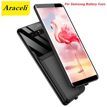 Araceli 10000 Mah For Samsung Galaxy Note 8 Note 9 A50 A50S A30S A8S A9 Pro A70 Battery Case Smart Charger Case Power Bank
