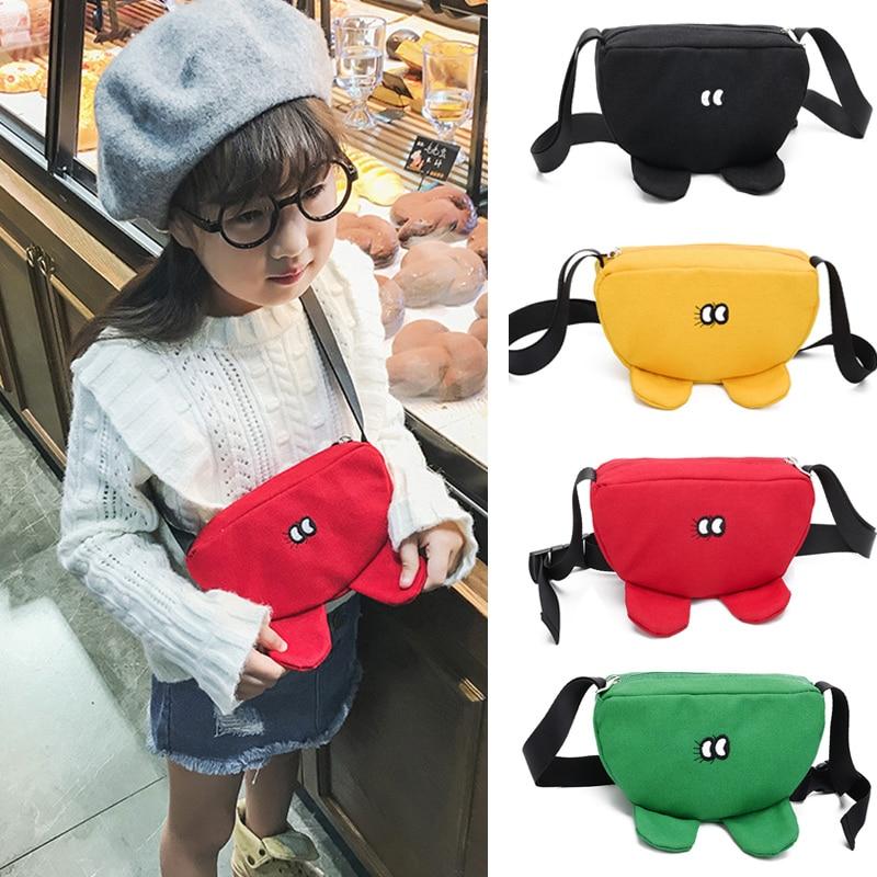 Child Waist Bag Cartoon Mini Bag On A Belt Boy Girl Shoulder Bags Fanny Pack Banana In Bag Fashion Chest Bags Lovely Phone Purse