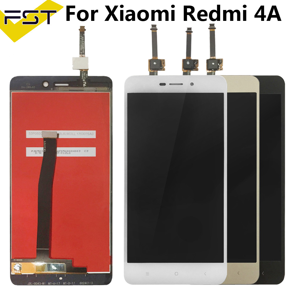 Spare Parts Touchscreen For Xiaomi Redmi 4A LCD Display Touch Screen Digitizer Assembly + Touch Screen Sensor For Redmi 4A
