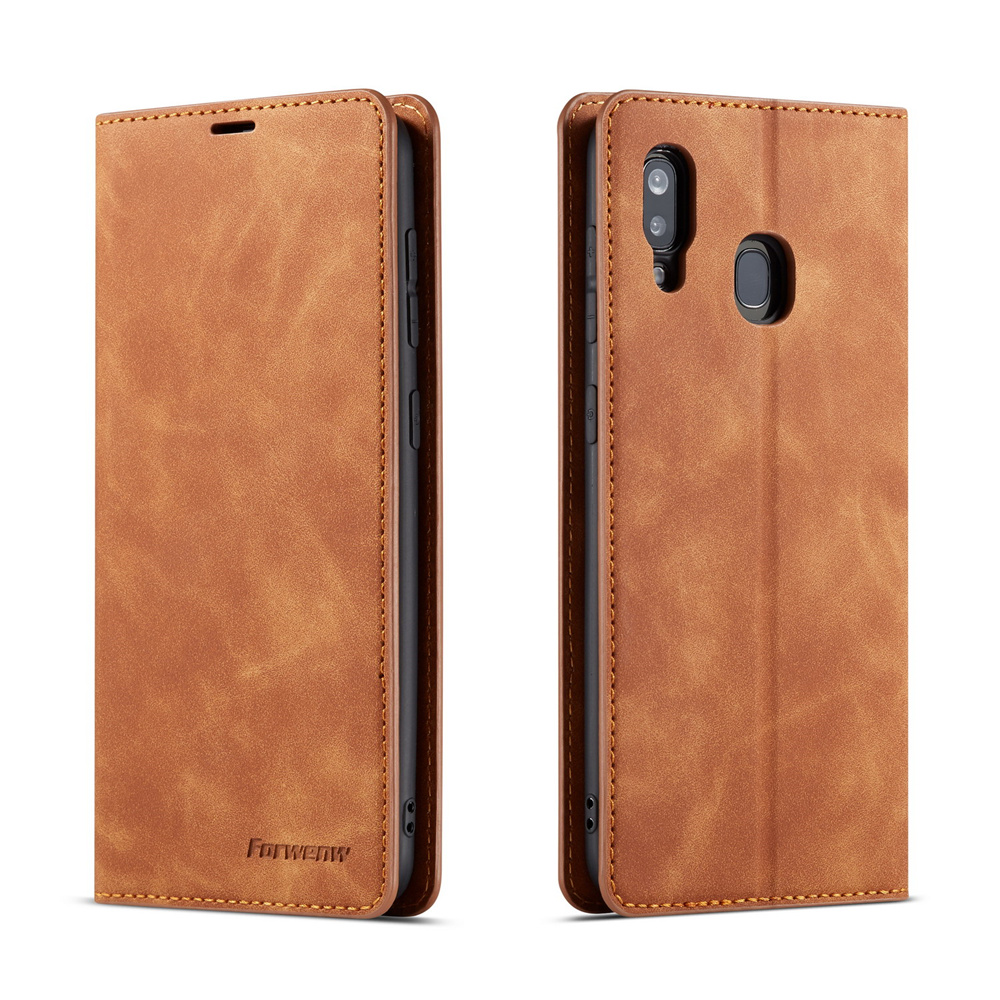 Book Case for Samsung S8 S9 S10 Cover Plus S10E A6 A7 A8 2018 Shell Leather Wallet Galaxy Shell Coque Samsun Galaxi Logo Hoesje in Flip Cases from Cellphones Telecommunications