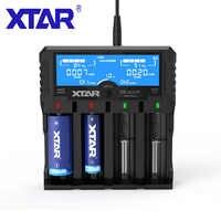 XTAR DRAGON VP4 PLUS bateria etui na ładowarkę Adapter zasilania samochodu ładowarka LCD inteligentny szybkie ładowanie Cargador ładowarka dla 18650 baterii