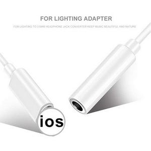 Image 2 - באיכות גבוהה עבור iPhone 7 ברקים כדי 3.5mm 2in1 אודיו כבל שקע אוזניות אוזניות מתאם