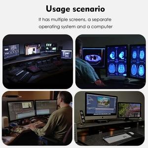Image 5 - Wavlink Thunderbolt 3 USB C محطة إرساء المزدوج 4 k @ 60Hz عرض الفيديو 60 واط USB C تسليم الطاقة لماك بوك برو إنتل معتمد