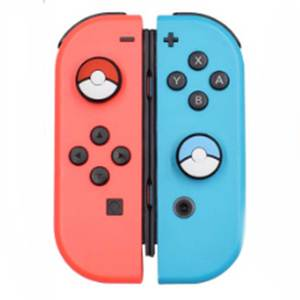 Image 2 - JCD 4PCS For Joy Con Silicone Joystick Thumb Stick Grip Cover Case Analog Caps For Nintendo Switch NS Joy Con Controller