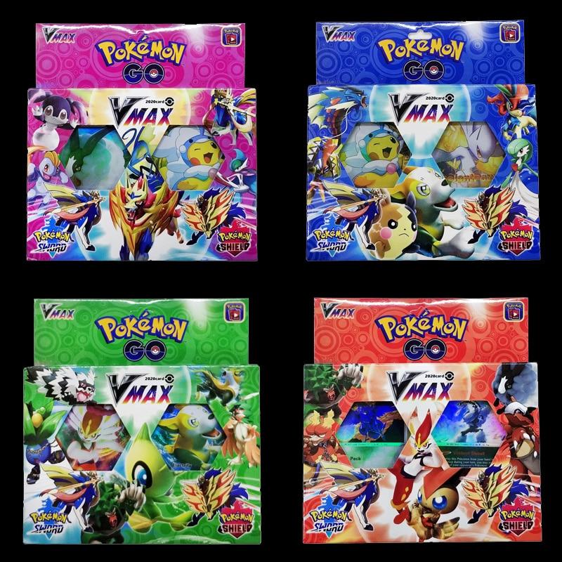 54PCS Cards Per Random Box New VMAX POKEMON Card English Version Pokemon Sm11 Ptcg Battle Collection Card Box Kids Toy Gift