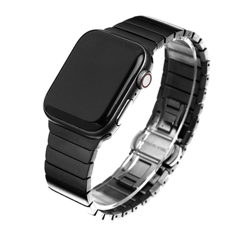 Stainless steel strap For Apple watch band 44mm 40mm apple watch 5 4 3 band iwatch 42mm 38mm Luxury Metal Link bracelet belt luxury watch strap for apple watch 5 4 3 2 1 band 40mm 38mm 44mm 42mm iwatch band diamond stainless steel link bracelet