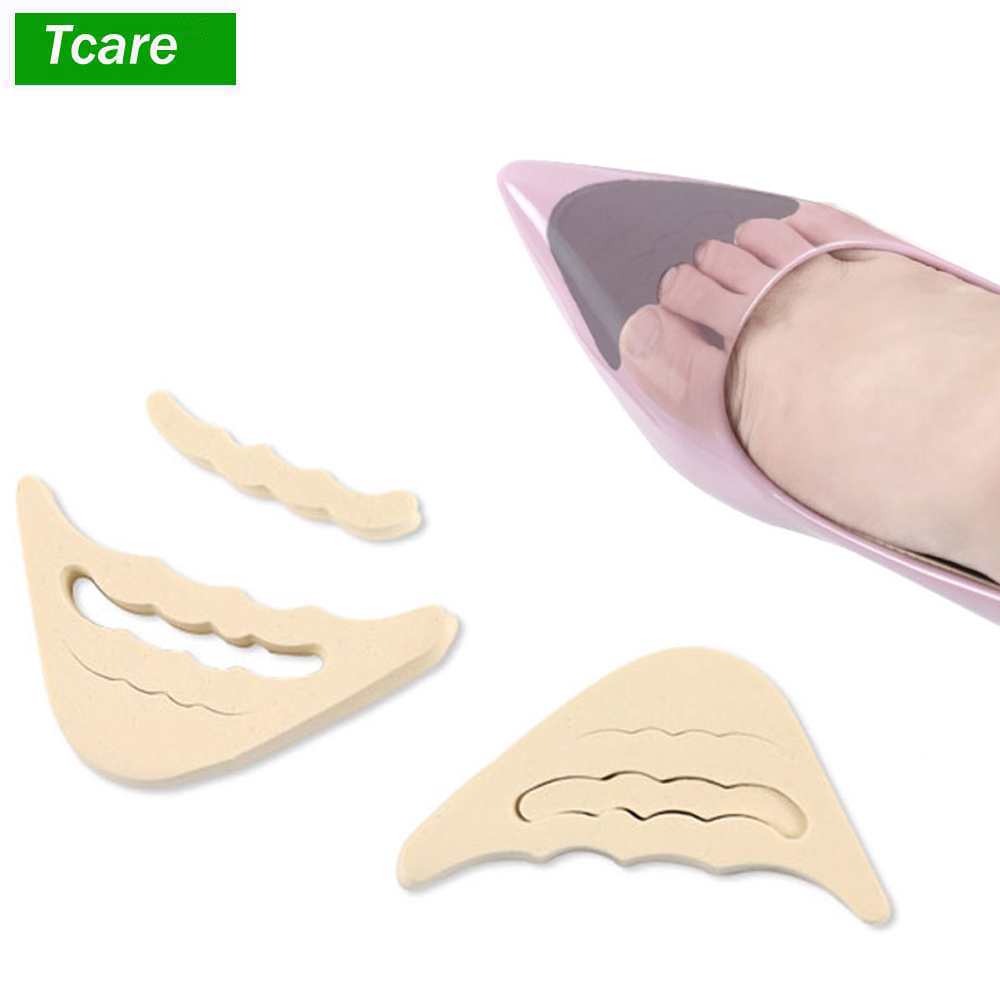 2Pair/Lo Forefoot Insert Pad For Women High Heels Toe Plug Half EVA Shoes Cushion Feet Filler Insoles Adjustment Pads Foot Brace