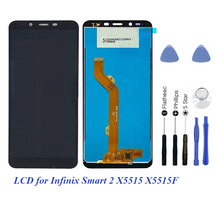 LCD Screen For Infinix Smart 2 X5515 Smart2 X5515F LCD Display Touch Screen Assembly Glass Panel Digitizer For Infinix Screen 13 3 full lcd display panel touch screen glass digitizer assembly lp133wf3 spa1 for toshiba satellite l35w b3204 p35w b3220 fhd