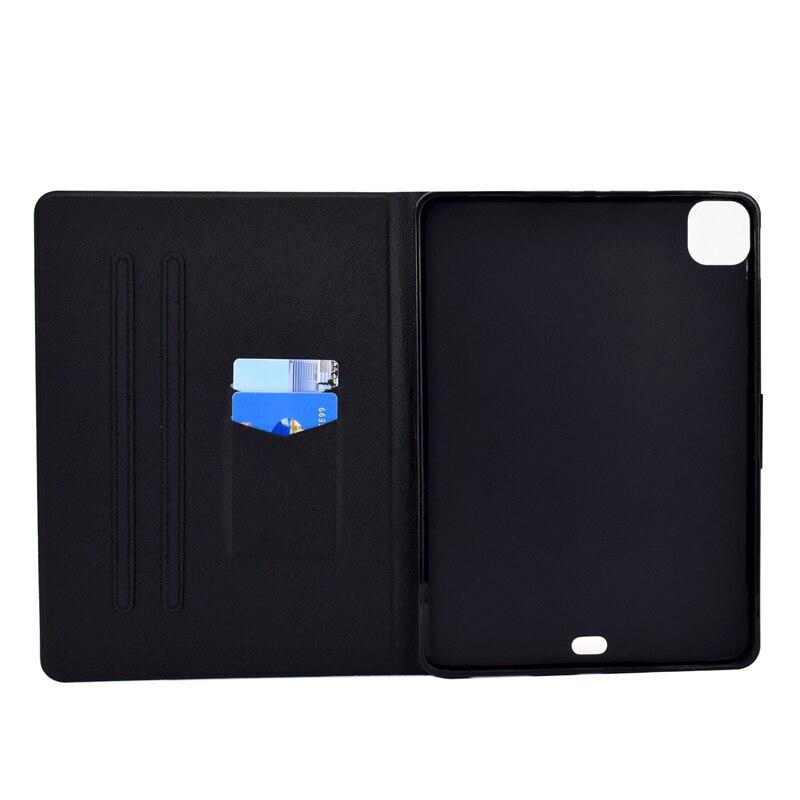 10.9 Case Cartoon IPad Apple Bear 4 Leather Thin Cover 2020 Ipad inch For Air For Air4