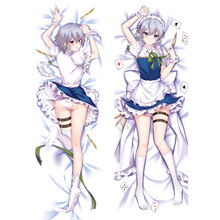 Pillow-Case Dakimakura Decorative Anime Fullbody DIY Sakuya Izayoi Print Touhou-Project