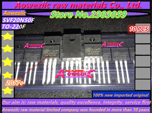 Image 1 - Aoweziic 2017 + 100 новый импортный оригинальный SVF20N50F 20N50F фотоэлемент с полевым эффектом 220 500V