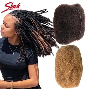 Image 3 - Sleek Brasilianische Remy Haar Afro verworrenes Lockiges Menschliches Haar Für Flechten 1 Bundle 50 gr/teil Natürliche Farbe Zöpfe Haar kein Schuss