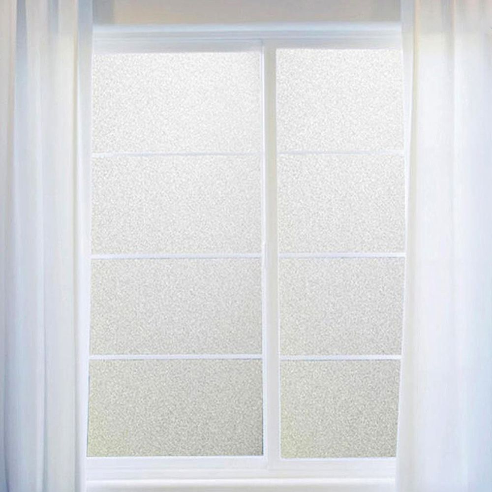 New 60*200cm Frosted Window Film No Glue Self Adhesive Vinyl Static Cling Privacy Glass Door Sticker Bathroom For Home Decor