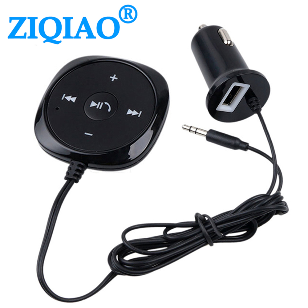 Handsfree Bluetooth Car Kit FM Wireless Transmitter Audio Receive MP3 Player with Magnetic Base