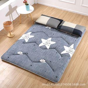 Нескользящий спальный матрас для дома, отеля, постельные принадлежности, защитный коврик для студентов, складные матрасы татами, напольный ...