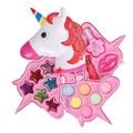 Детский набор для макияжа Наборы косметики принцессы единорог коробка для макияжа безопасные моющиеся ролевые игрушки для макияжа для дев...