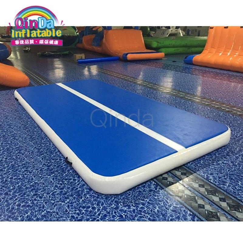 Tapis de gymnastique gonflable australien de voie d'air de dégringolade de flottement de l'eau matériel importé de Dwf pour la gymnastique