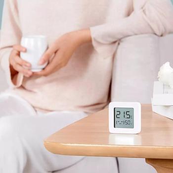 New XIAOMI Mijia Bluetooth Thermometer 2 Wireless Smart Electric Digital Hygrometer Work with Mi APP Humidity Sensor xiami xiomi 5