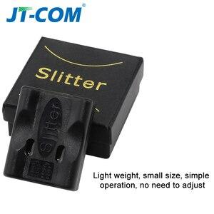 Image 4 - Fiber optik kablo ceket eğme Fiber optik alet uzunlamasına ışın tüpü gevşek tüp arayüz bıçak stripper Fiber gevşek tüp