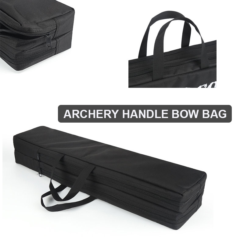 Canvas Hunting Archery Recurve Bow Carry Bag Handle Holder Case Bag Shoulder Bow Protector Shooting Compound Bow Handbag